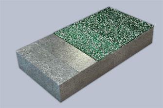 Нескользящее эпоксидное покрытие из цветного кварцевого песка
