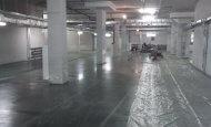 Устройство бетонных полов в подземной автостоянке