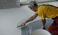 Устройство декоративного наливного эпоксидного покрытия