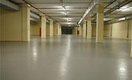 Подземный гараж здания УВД