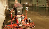 Армированный промышленный бетонный пол