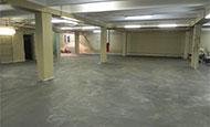 Армированный чистовой бетонный пол